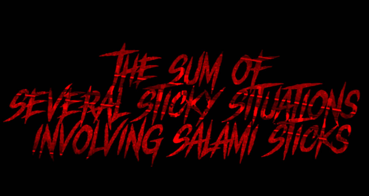 The Sum of Several Sticky Situations involving Salami Sticks