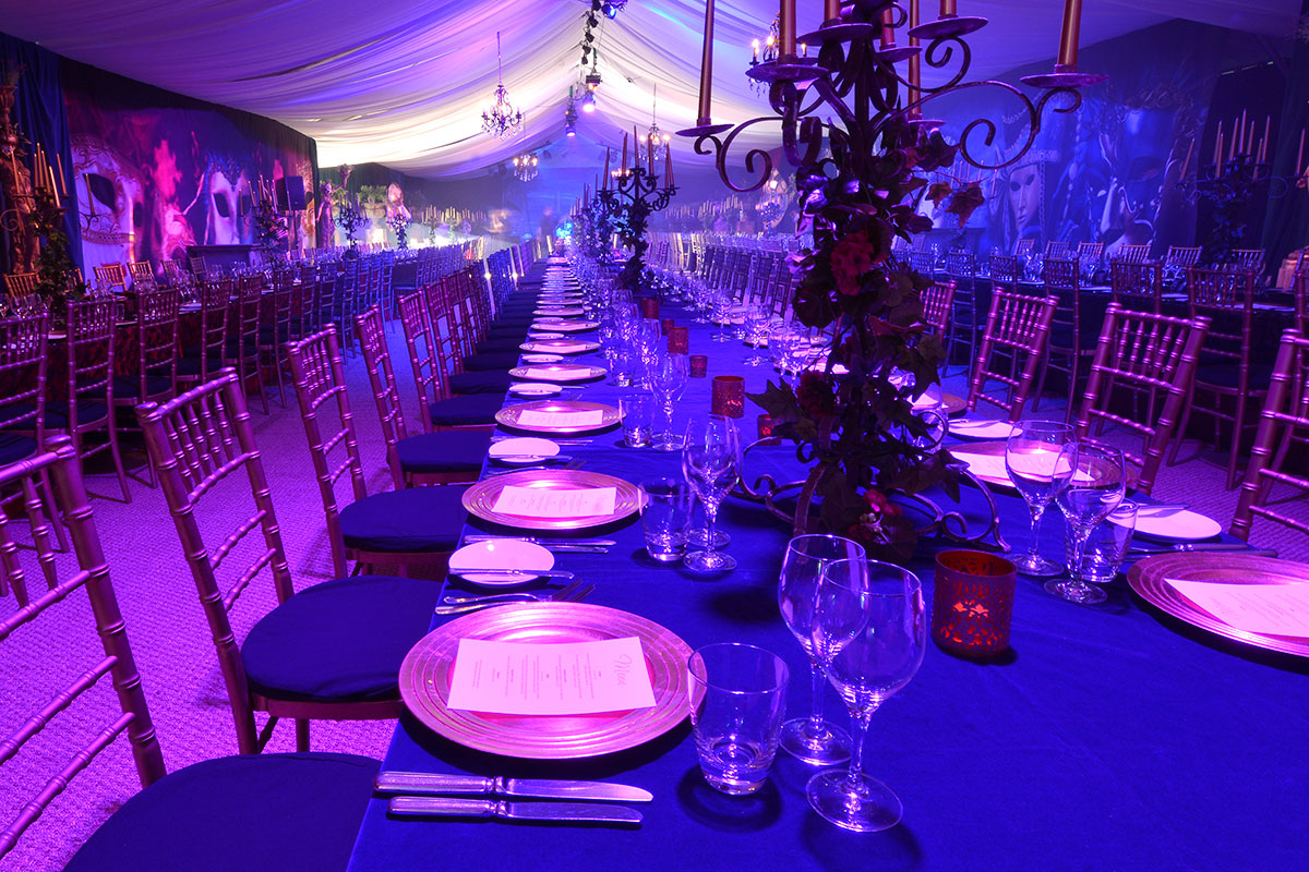 Chair Covers Candelabra