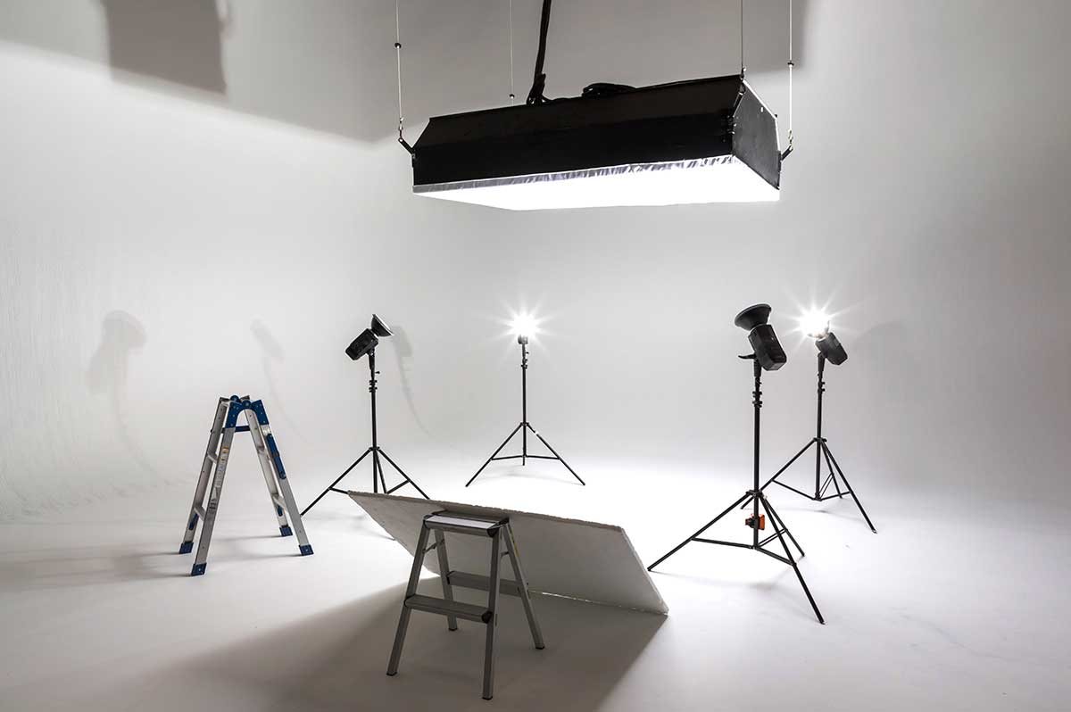 Studio 2 White Cyc