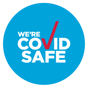 We're COVID Safe!