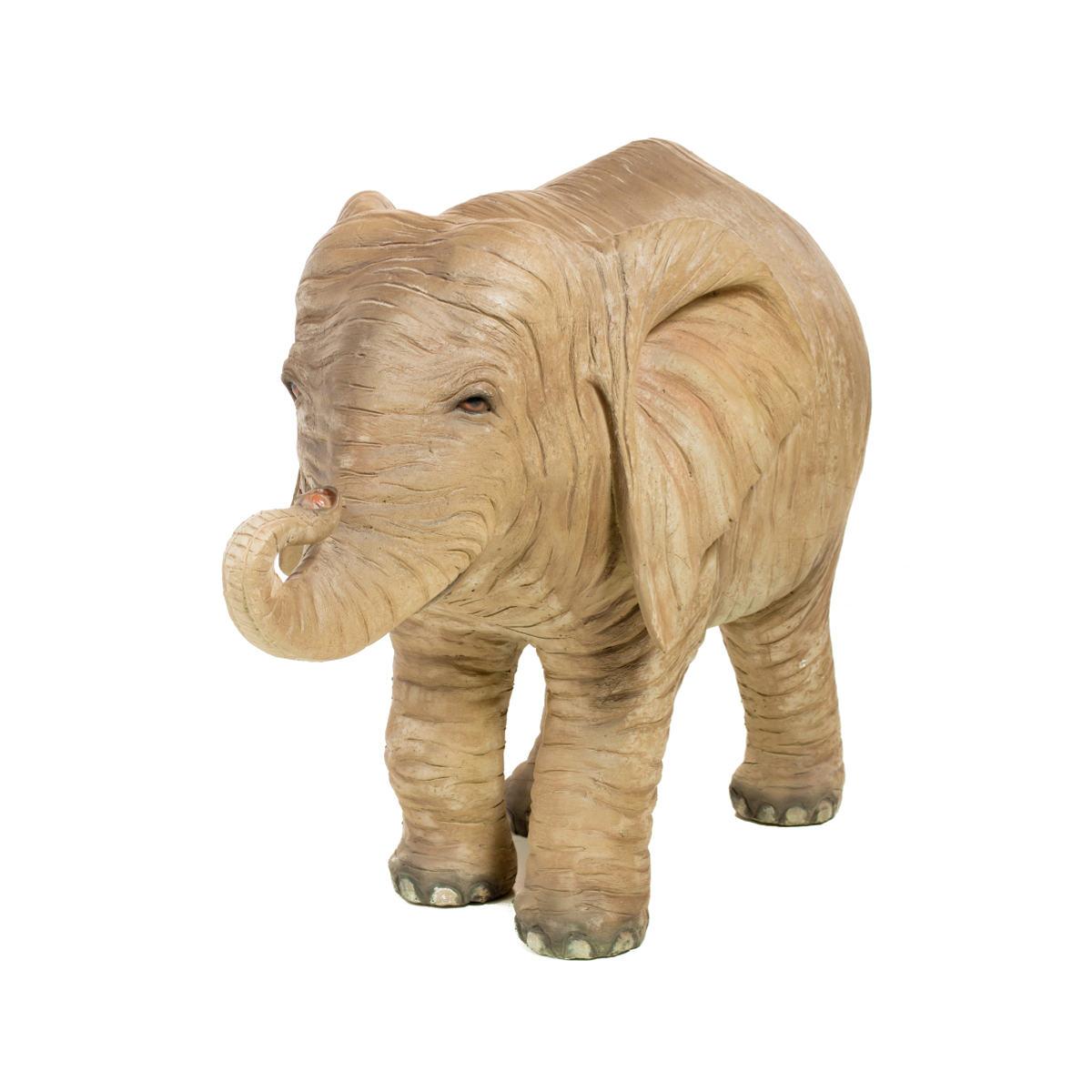 Life-Size Baby Elephant