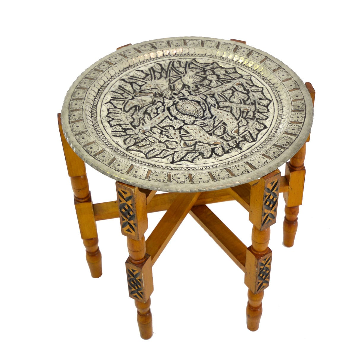 Two Piece Moroccan Style Table